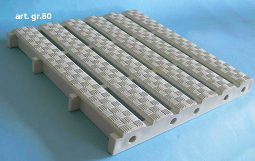 PARALLEL GRATING FOR GUTTERS GR80