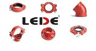 אביזרי צנרת מחורצים - LEDE